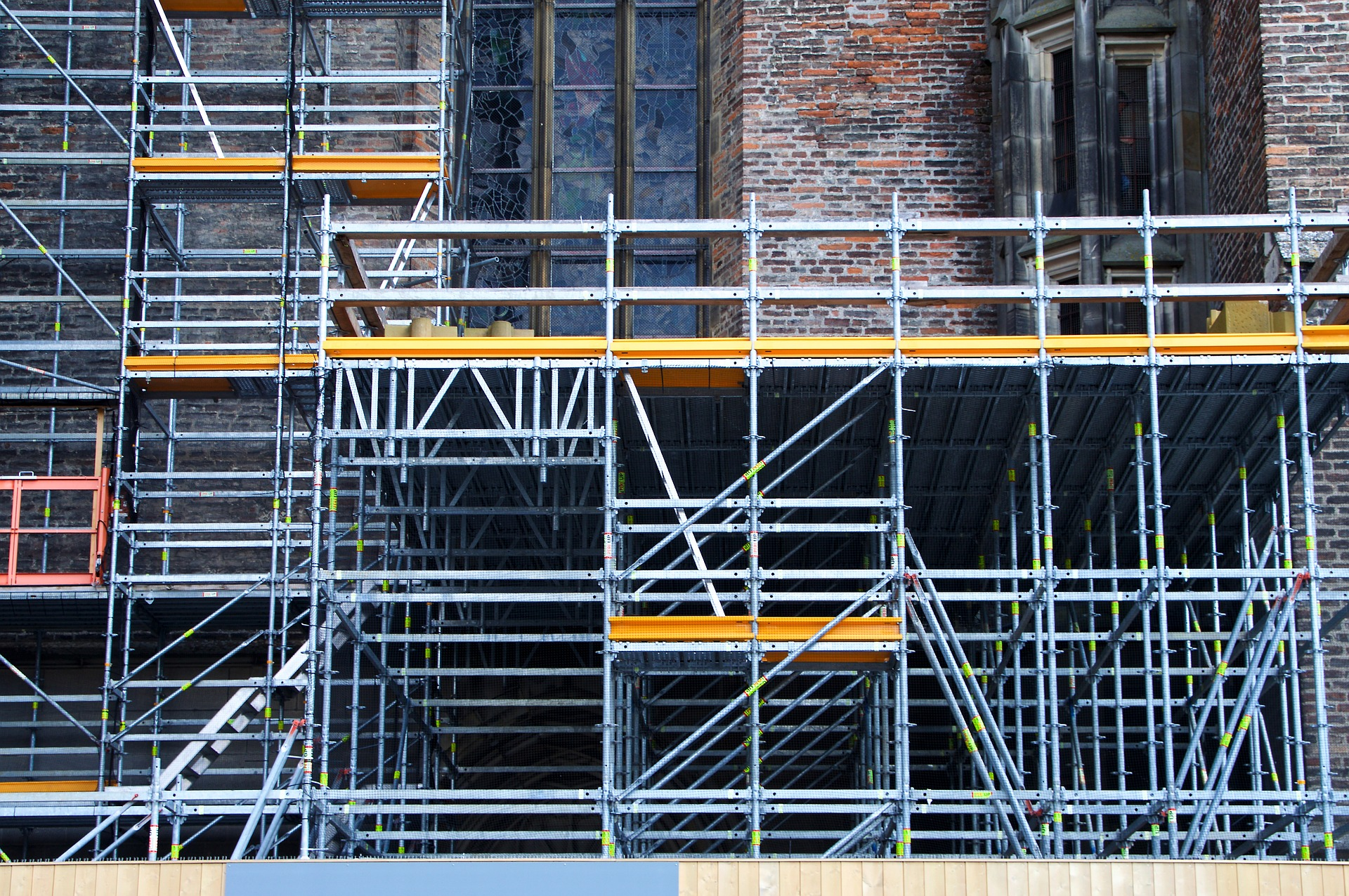 Scaffolding: crucial for building maintenance